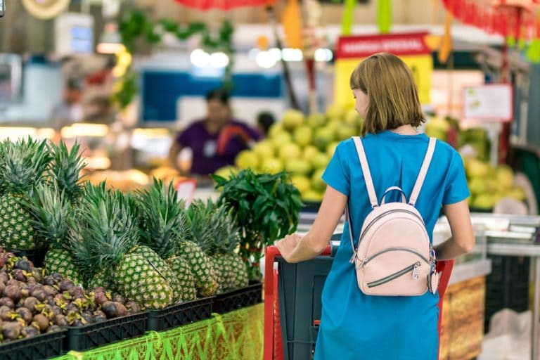 PELY ab in die tonne mit den alten gewohnheiten im Supermarkt das richtige kaufen
